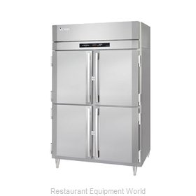 Victory RSA-2D-S1-PT-HD Pass-Thru Refrigerator 2 sections