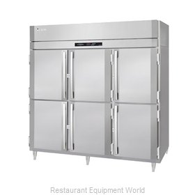 Victory RSA-3D-S1-EW-HD Reach-in Refrigerator 3 sections