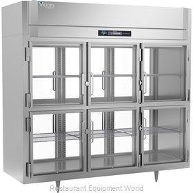 Victory RSA-3D-S1-EWPTHDGDHC Refrigerator, Pass-Thru