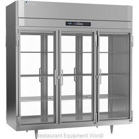 Victory RSA-3D-S1-PT-GD-HC Refrigerator, Pass-Thru
