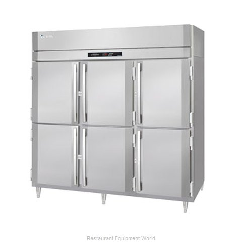 Victory RSA-3D-S1-PT-HD Pass-Thru Refrigerator 3 sections