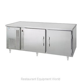 Victory UFS-2-S1 Reach-In Undercounter Freezer 2 section