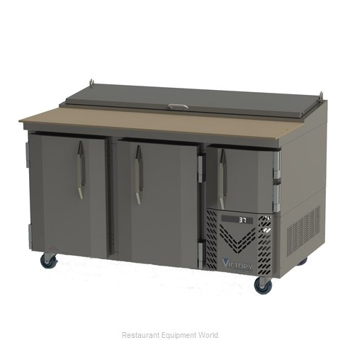 Victory VPP60 Refrigerated Counter, Pizza Prep Table