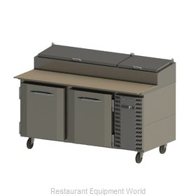 Victory VPP67 Refrigerated Counter, Pizza Prep Table