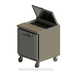 Victory VSP27-08 Refrigerated Counter, Sandwich / Salad Top