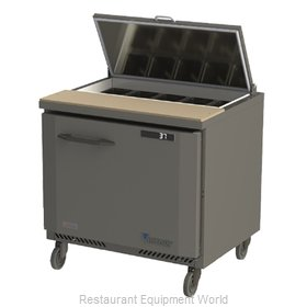 Victory VSP36-10 Refrigerated Counter, Sandwich / Salad Top
