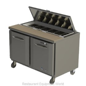 Victory VSP48-12 Refrigerated Counter, Sandwich / Salad Top