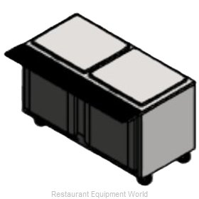 Victory VSP60-16 Refrigerated Counter, Sandwich / Salad Top