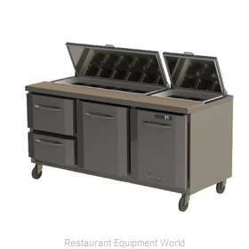 Victory VSP72-18 Refrigerated Counter, Sandwich / Salad Top
