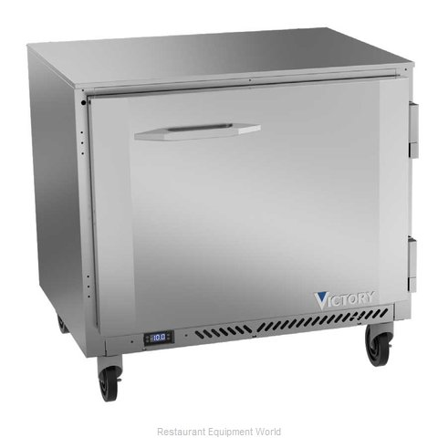 Victory VUF36HC Freezer, Undercounter, Reach-In (Magnified)