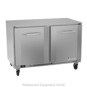 Victory VUF48HC Freezer, Undercounter, Reach-In