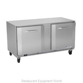 Victory VUF60HC Freezer, Undercounter, Reach-In