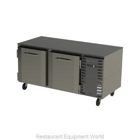 Victory VUF67HC Freezer, Undercounter, Reach-In