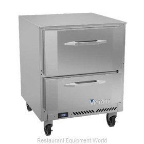 Victory VUFD27HC-2 Freezer, Undercounter, Reach-In