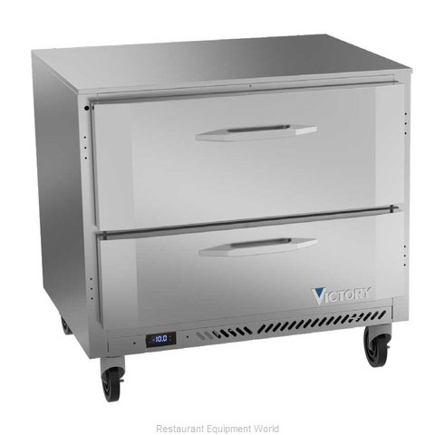 Victory VUFD36HC-2 Freezer, Undercounter, Reach-In (Magnified)