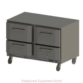 Victory VUFD48-4 Freezer, Undercounter, Reach-In