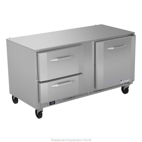 Victory VUFD60HC-2 Freezer, Undercounter, Reach-In