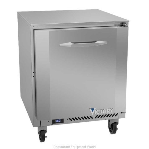 Victory VUR27HC Refrigerator, Undercounter, Reach-In (Magnified)
