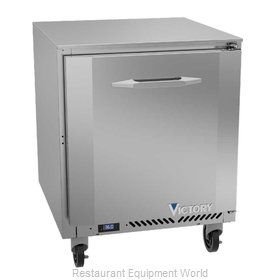 Victory VUR27HC Refrigerator, Undercounter, Reach-In