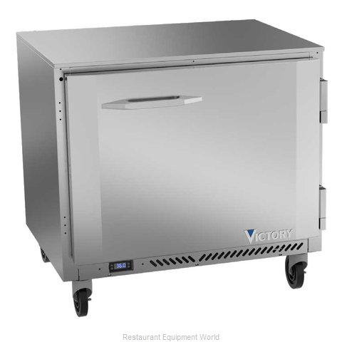 Victory VUR36HC Refrigerator, Undercounter, Reach-In (Magnified)