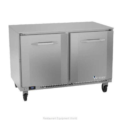 Victory VUR48HC Refrigerator, Undercounter, Reach-In