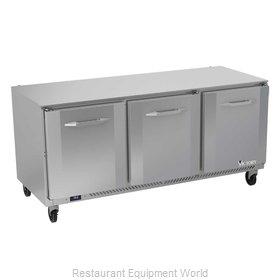 Victory VUR72HC Refrigerator, Undercounter, Reach-In