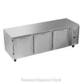 Victory VUR93HC Refrigerator, Undercounter, Reach-In