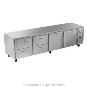 Victory VURD119HC-4 Refrigerator, Undercounter, Reach-In
