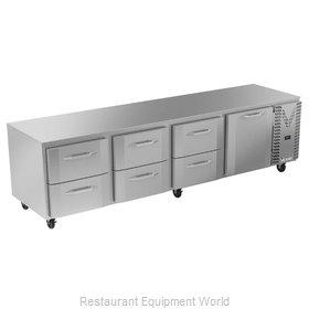 Victory VURD119HC-6 Refrigerator, Undercounter, Reach-In