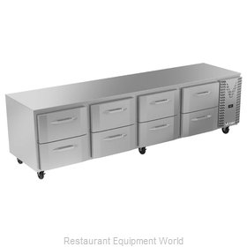 Victory VURD119HC-8 Refrigerator, Undercounter, Reach-In