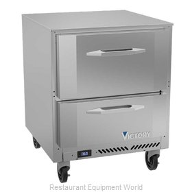 Victory VURD27HC-2 Refrigerator, Undercounter, Reach-In