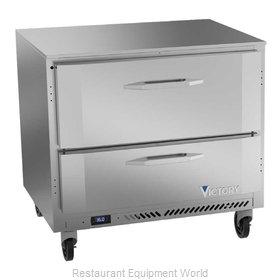 Victory VURD36HC-2 Refrigerator, Undercounter, Reach-In