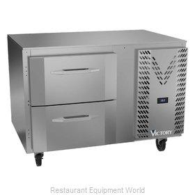 Victory VURD46HC-2 Refrigerator, Undercounter, Reach-In