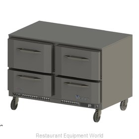 Victory VURD48-2 Refrigerator, Undercounter, Reach-In