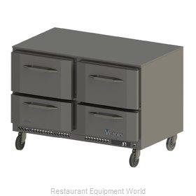 Victory VURD48-4 Refrigerator, Undercounter, Reach-In