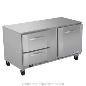 Victory VURD60HC-2 Refrigerator, Undercounter, Reach-In