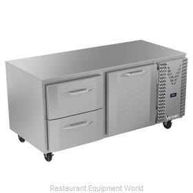 Victory VURD67HC-2 Refrigerator, Undercounter, Reach-In
