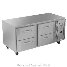 Victory VURD67HC-4 Refrigerator, Undercounter, Reach-In