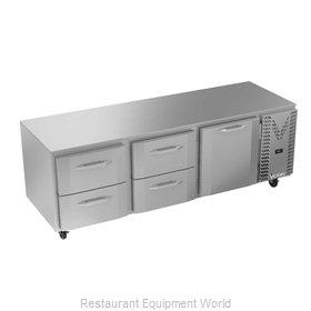 Victory VURD93HC-4 Refrigerator, Undercounter, Reach-In