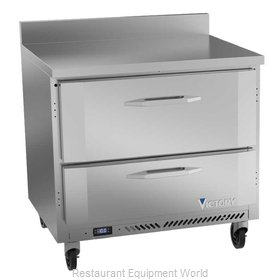 Victory VWFD36HC-2 Freezer Counter, Work Top