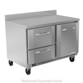 Victory VWFD48HC-2 Freezer Counter, Work Top