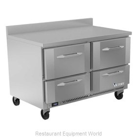 Victory VWFD48HC-4 Freezer Counter, Work Top