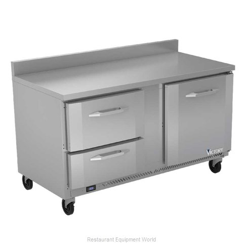 Victory VWFD60HC-2 Freezer Counter, Work Top