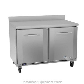 Victory VWR48HC Refrigerated Counter, Work Top