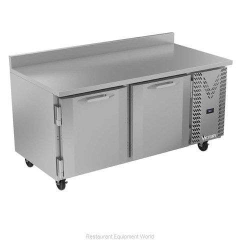Victory VWR67HC Refrigerated Counter, Work Top