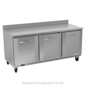 Victory VWR72HC Refrigerated Counter, Work Top