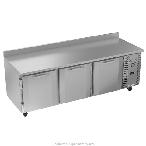 Victory VWR93HC Refrigerated Counter, Work Top