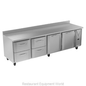 Victory VWRD119HC-4 Refrigerated Counter, Work Top