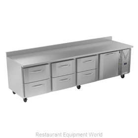 Victory VWRD119HC-6 Refrigerated Counter, Work Top