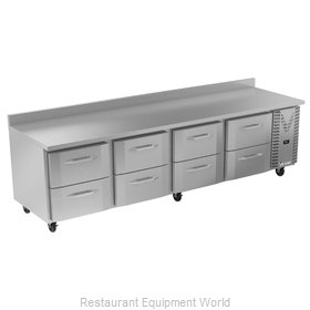 Victory VWRD119HC-8 Refrigerated Counter, Work Top